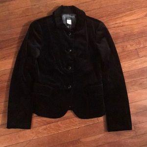 J. Crew velvet blazer